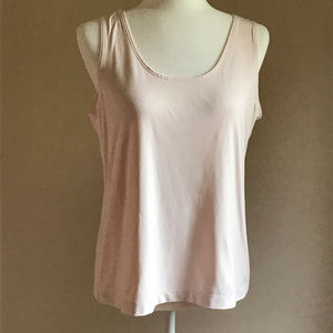 Chico's Soft Pink Tank Top - Size 2 (L)